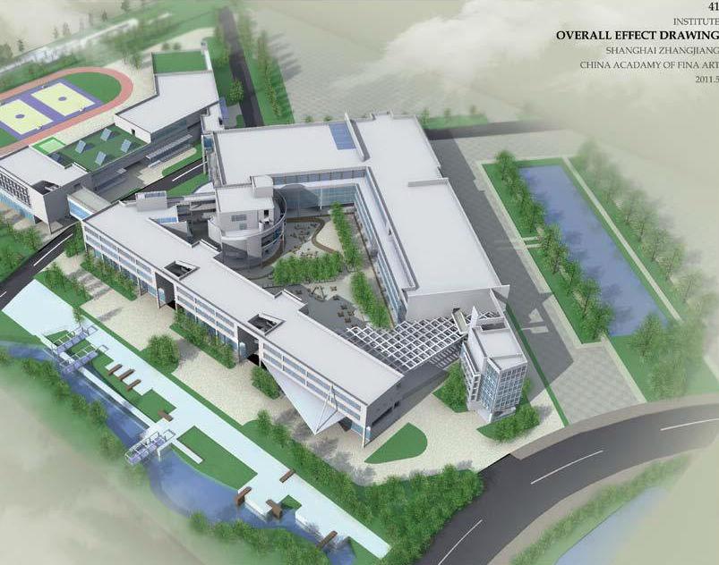 中国美术学院上海设计学院校园建筑设计