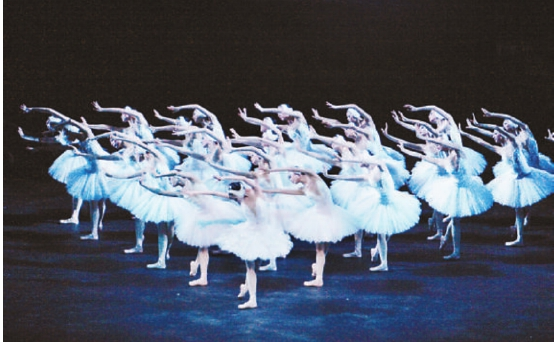 芭蕾舞剧《天鹅湖》剧照